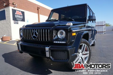2016 Mercedes-Benz G63 AMG G Class 63 G Wagon V8 Bi-Turbo Diamond Stitch | MESA, AZ | JBA MOTORS in MESA, AZ