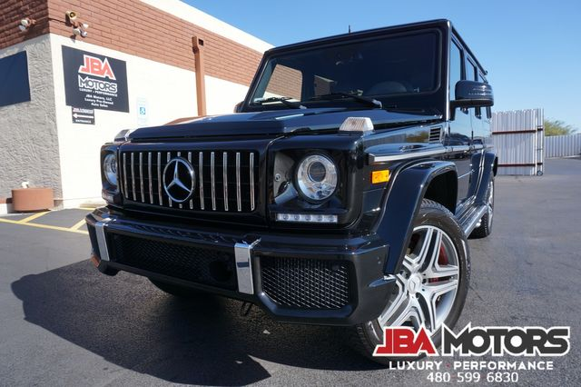 2016 Mercedes-Benz G63 AMG G Class 63 G Wagon V8 Bi-Turbo Diamond Stitch