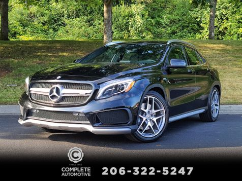 2016 Mercedes-Benz GLA 45 AMG 4Matic 375 HP All Wheel Drive Local 1 Owner Fun to Drive  in Seattle