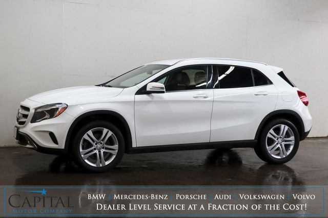 "2016 Mercedes-Benz GLA250 2.0T Turbo w/Navigation, Backup Cam, Keyless GO, Bluetooth Audio & 18"" Rims in Eau Claire, Wisconsin 54703"