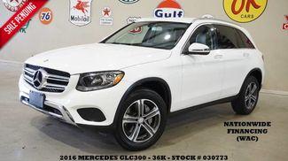 2016 Mercedes-Benz GLC 300 P1 PKG,BACK-UP CAM,BLIS,HTD LTH,36K,WE FINANCE in Carrollton TX, 75006