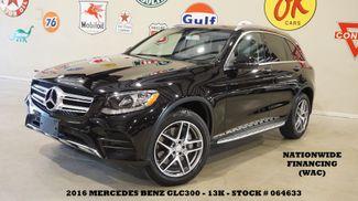 2016 Mercedes-Benz GLC 300 PANO ROOF,NAV,BACK-UP CAM,HTD LTH,13K,WE FINANCE in Carrollton TX, 75006