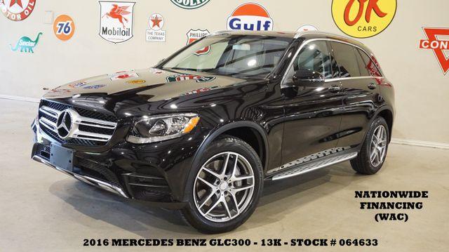 2016 Mercedes-Benz GLC 300 PANO ROOF,NAV,BACK-UP CAM,HTD LTH,13K,WE FINANCE