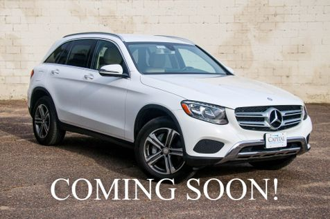 2016 Mercedes-Benz GLC300 4Matic AWD Crossover w/Navigation, Keyless Start, Backup Cam, Heated Seats & B.T. Audio in Eau Claire