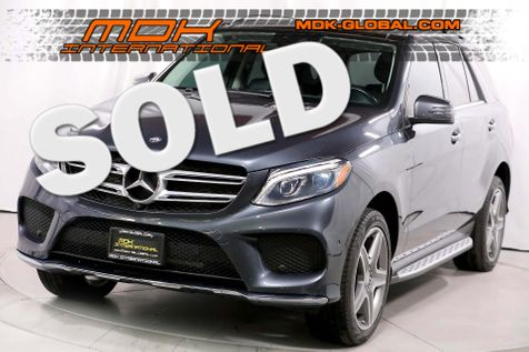 2016 Mercedes-Benz GLE 400 - AMG Line - LED lights - Panoramic sunroof in Los Angeles