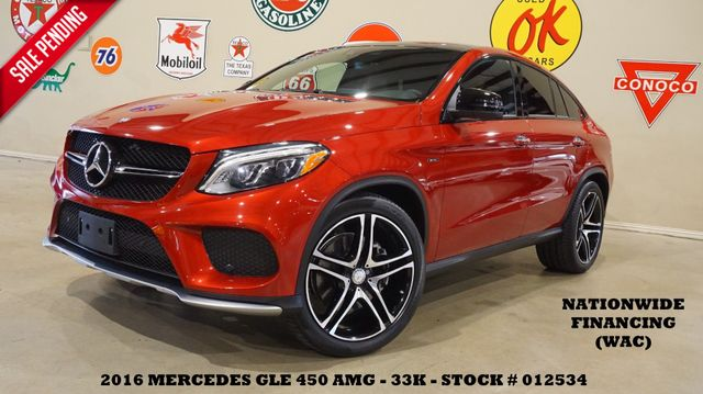 2016 Mercedes-Benz GLE 450 AMG PANO ROOF,NAV,HTD/COOL LTH,22'S,33K in Carrollton TX, 75006