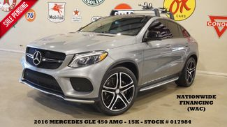 2016 Mercedes-Benz GLE 450 AMG MSRP 79K,PANO ROOF,360 CAM,HTD/COOL LTH,15K in Carrollton TX, 75006