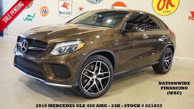 2016 Mercedes-Benz GLE 450 AMG PANO ROOF,NAV,BACK-UP CAM,HTD/COOL LTH,...