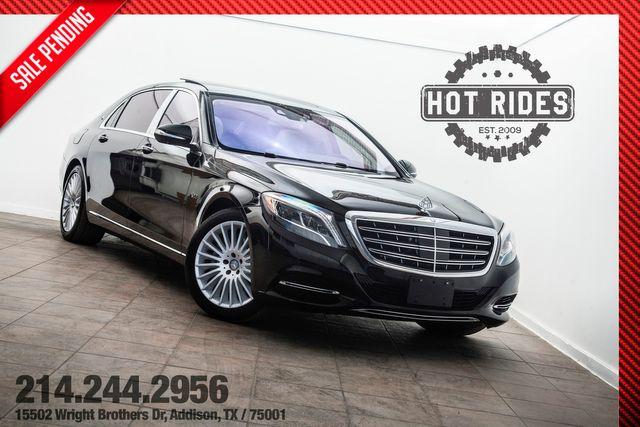 2016 Mercedes-Benz Maybach S600 Executive Pkg. in Addison, TX 75001