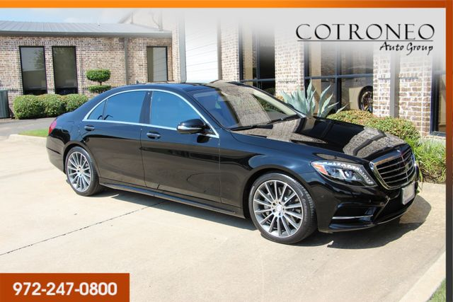 2016 Mercedes-Benz S 550 Sedan Sport in Addison TX, 75001