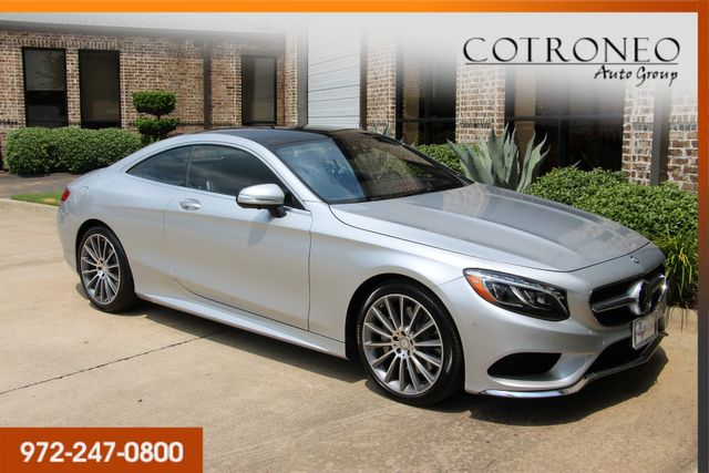 2016 Mercedes-Benz S 550 4MATIC Coupe Sport