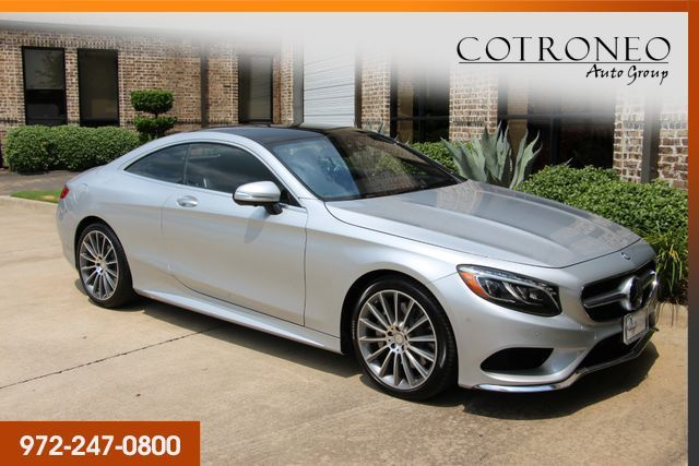 2016 Mercedes-Benz S 550 4MATIC Coupe Sport in Addison, TX 75001