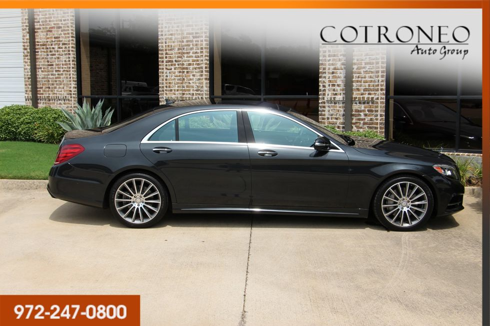 2016 Mercedes-Benz S 550 Sedan Sport | Addison TX | Cotroneo
