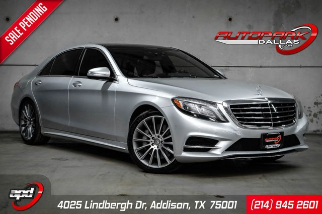 2016 Mercedes-Benz S 550 117k MSRP w/ Sport & Driver Asst. Package in Addison, TX 75001