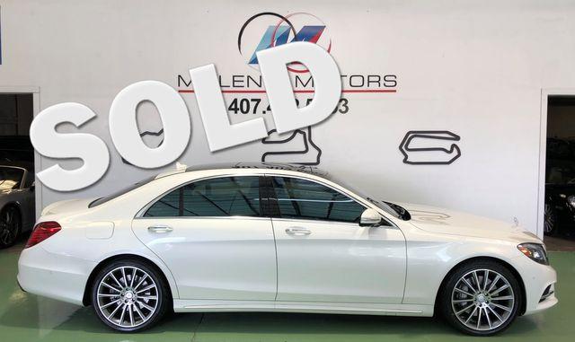 2016 Mercedes-Benz S 550 Sport Package Longwood, FL 0