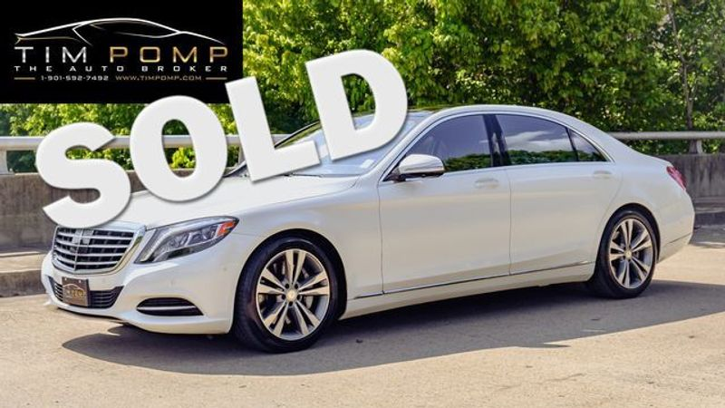 2016 Mercedes-Benz S 550 PANO ROOF | Memphis, Tennessee | Tim Pomp - The Auto Broker in Memphis Tennessee