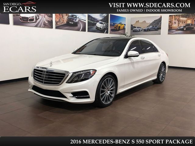 2016 Mercedes-Benz S 550 Sport Package
