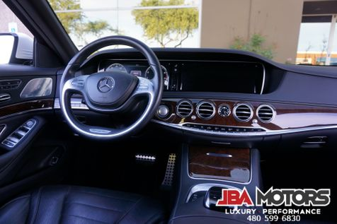 2016 Mercedes-Benz S550 S Class 550 Sedan MATTE WHITE AMG Sport Package | MESA, AZ | JBA MOTORS in MESA, AZ