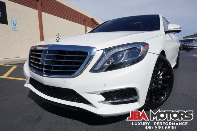 2016 Mercedes-Benz S550 S Class 550 Sedan MATTE WHITE AMG Sport Package | MESA, AZ | JBA MOTORS in Mesa AZ