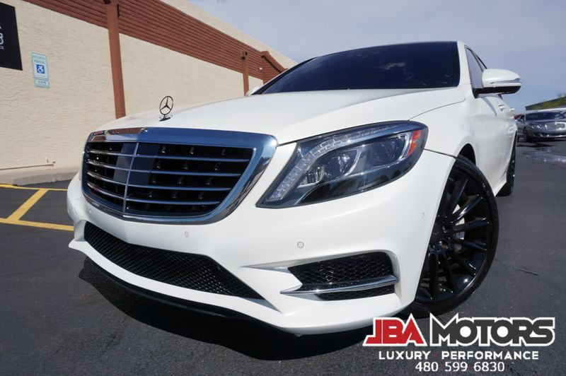 2016 Mercedes-Benz S550 S Class 550 Sedan MATTE WHITE AMG Sport Package | MESA, AZ | JBA MOTORS in MESA AZ