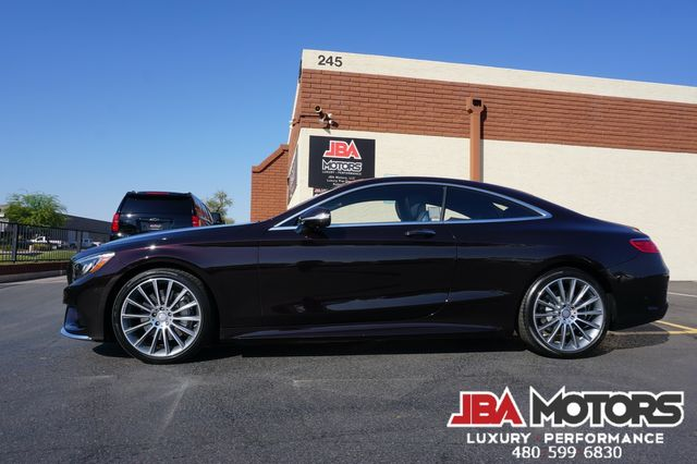 2016 Mercedes-Benz S550 S Class 550 Coupe 4MATIC AWD ~ ONLY 16k LOW MILES in Mesa, AZ 85202
