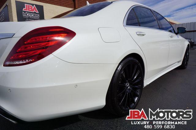 2016 Mercedes-Benz S550 S Class 550 Sedan AMG Sport Diamond White Heads Up in Mesa, AZ 85202