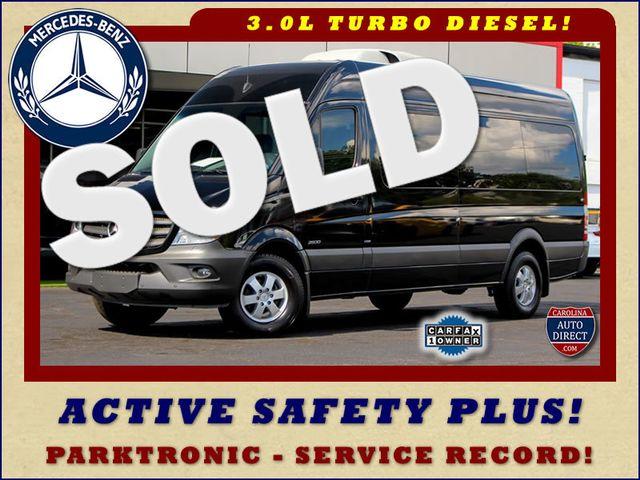 "2016 Mercedes-Benz Sprinter Passenger Van 2500 170"" High Roof - DIESEL - BLIND SPOT - MORE! Mooresville , NC"