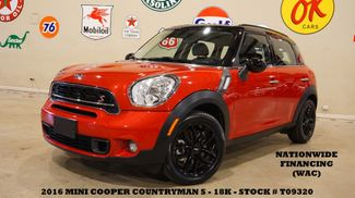 2016 Mini Cooper Countryman S AUTO,LEATHER,BLK WHLS,18K,WE FINANCE in Carrollton, TX 75006