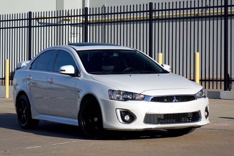 2016 Mitsubishi Lancer GT* Manual* Only 45k mi* Sunroof* EZ Financing**   Plano, TX   Carrick's Autos in Plano TX
