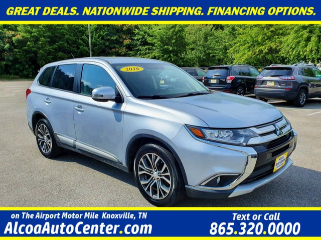 "2016 Mitsubishi Outlander SE FWD Push Button Start w/18"" Alloys"