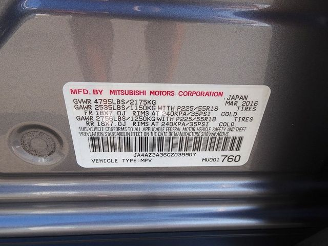 2016 Mitsubishi Outlander ES Madison, NC 43