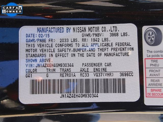 2016 Nissan 370Z Sport Madison, NC 42