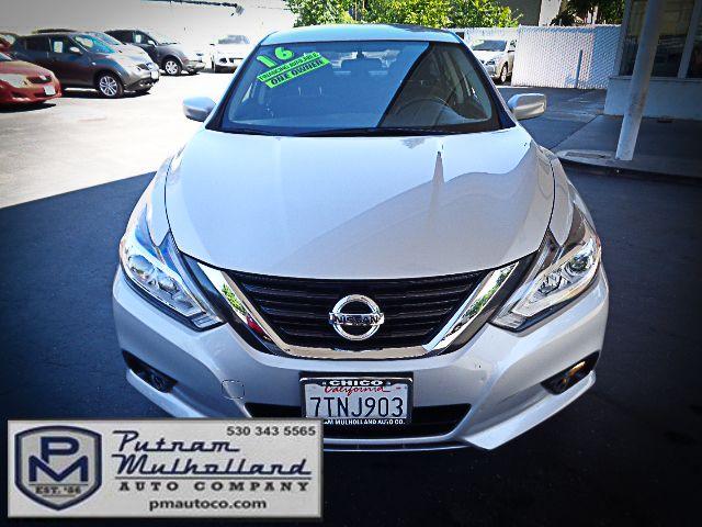 2016 Nissan Altima 2.5 SV Chico, CA 1
