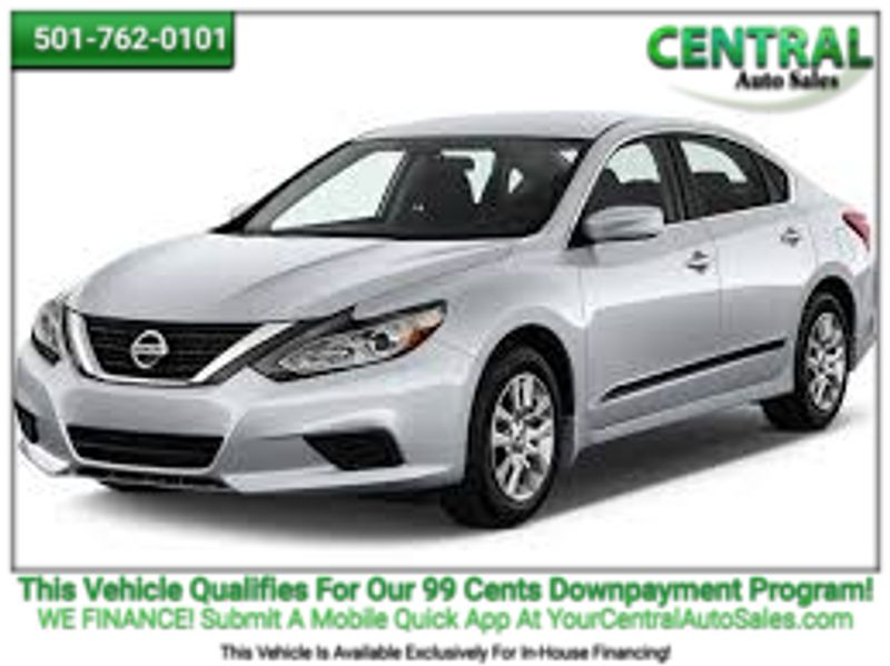 2016 Nissan Altima 2.5 S | Hot Springs, AR | Central Auto Sales in Hot Springs AR