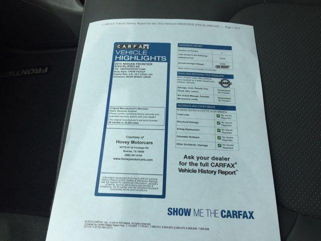 2016 Nissan Frontier SL in Boerne, Texas 78006