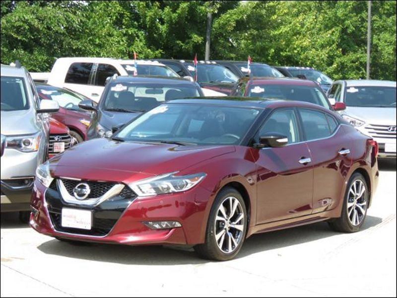 2016 Nissan Maxima 3.5 SL Coulis Red Leather/Navigation/Panoramic  in Ankeny IA