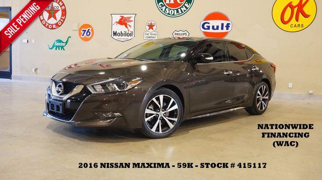 2016 Nissan Maxima 3.5 Platinum ROOF,NAV,360 CAM,HTD/COOL LTH,59K in Carrollton, TX 75006