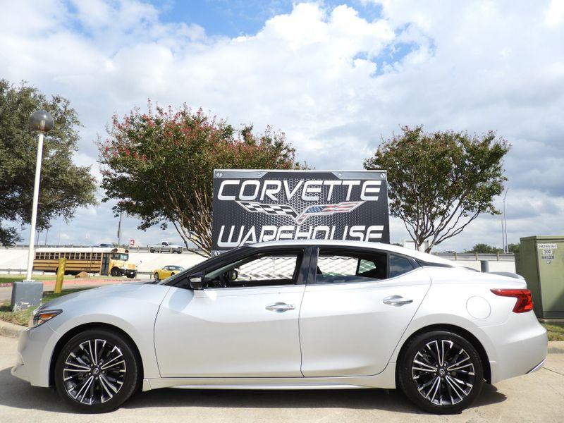 2016 Nissan Maxima 3.5 Platinum Sedan Auto, Sunroof, Alloy Wheels 46k | Dallas, Texas | Corvette Warehouse