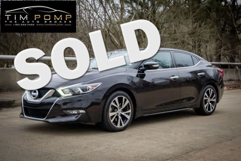 2016 Nissan Maxima 3.5 SL | Memphis, Tennessee | Tim Pomp - The Auto Broker in Memphis Tennessee