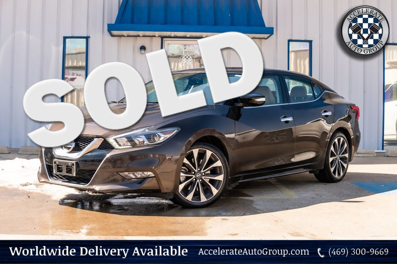 2016 Nissan Maxima 3.5 SR CLEAN CARFAX ONE OWNER NAV LOADED LEATHER in Rowlett Texas