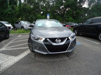 2016 Nissan Maxima 3.5 SV. LEATHER. NAVIGATION SEFFNER, Florida 10