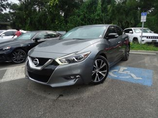2016 Nissan Maxima 3.5 SV. LEATHER. NAVIGATION SEFFNER, Florida 4