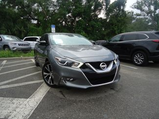 2016 Nissan Maxima 3.5 SV. LEATHER. NAVIGATION SEFFNER, Florida 9