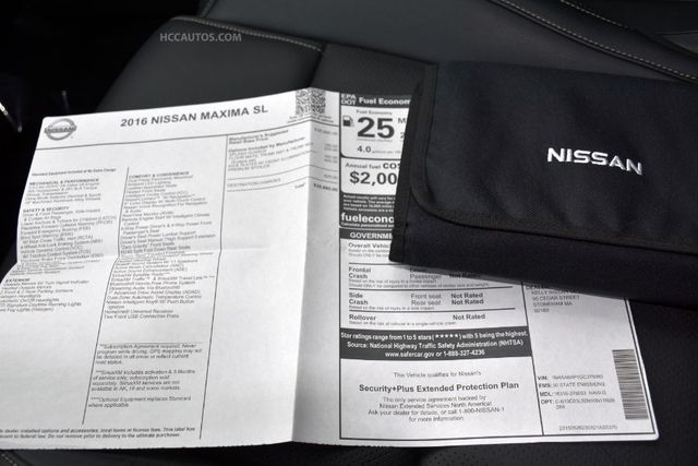 2016 Nissan Maxima 3.5 SL Waterbury, Connecticut 34