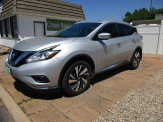 2016 Nissan Murano Platinum in Fort Collins, CO 80524