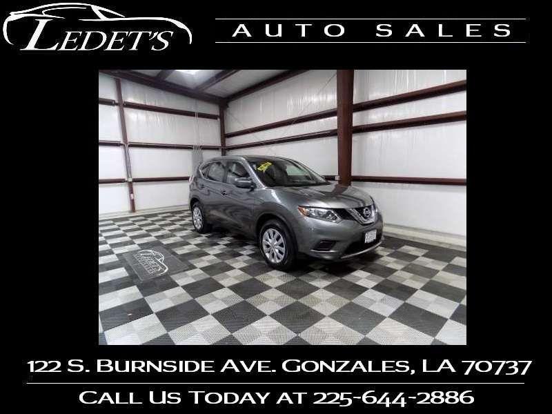 2016 Nissan Rogue S - Ledet's Auto Sales Gonzales_state_zip in Gonzales Louisiana