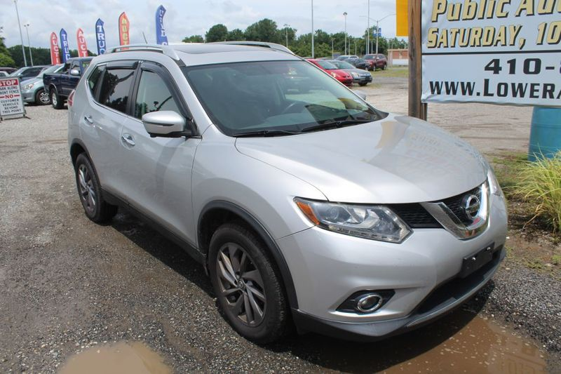 2016 Nissan Rogue SL  city MD  South County Public Auto Auction  in Harwood, MD