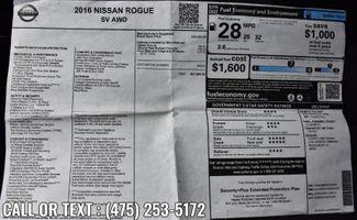 2016 Nissan Rogue SV Waterbury, Connecticut 1