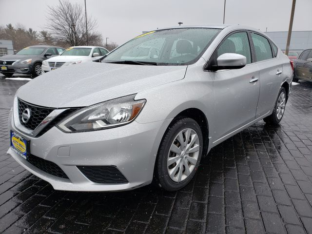 2016 Nissan Sentra S | Champaign, Illinois | The Auto Mall of Champaign in Champaign Illinois