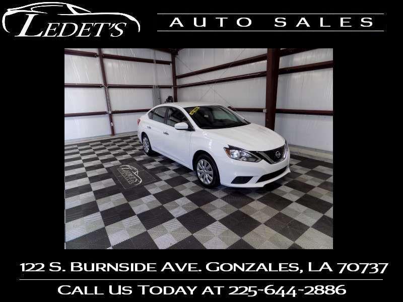 2016 Nissan Sentra S - Ledet's Auto Sales Gonzales_state_zip in Gonzales Louisiana
